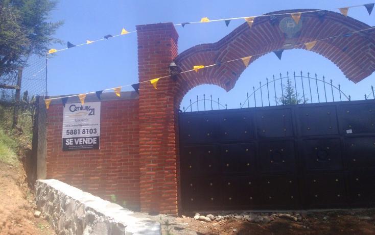 Foto de terreno habitacional en venta en  , cañada de cisneros, tepotzotlán, méxico, 1708772 No. 01