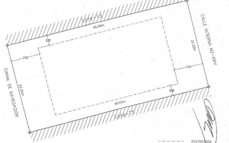 Foto de terreno habitacional en venta en  , cancún centro, benito juárez, quintana roo, 1056599 No. 04