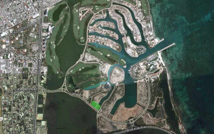 Foto de terreno habitacional en venta en  , cancún centro, benito juárez, quintana roo, 1114841 No. 04