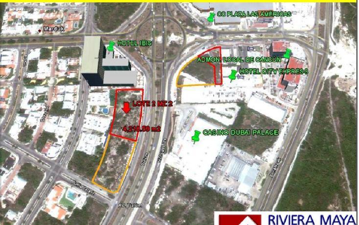 Foto de terreno comercial en venta en  , cancún centro, benito juárez, quintana roo, 1128831 No. 01
