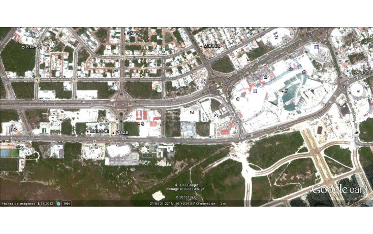Foto de terreno comercial en venta en  , cancún centro, benito juárez, quintana roo, 1129807 No. 02