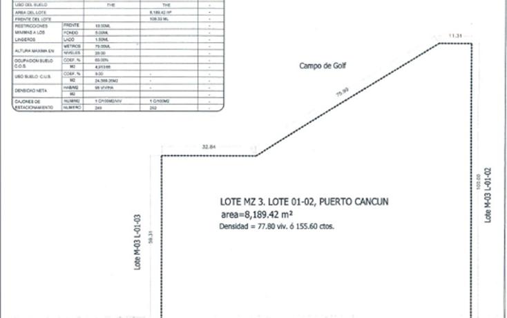 Foto de terreno comercial en venta en  , cancún centro, benito juárez, quintana roo, 1133483 No. 07