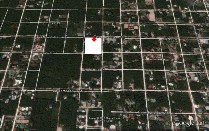 Foto de terreno habitacional en venta en, cancún centro, benito juárez, quintana roo, 1166599 no 02