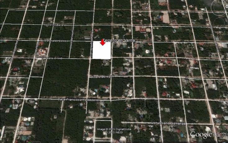 Foto de terreno habitacional en venta en  , canc?n centro, benito ju?rez, quintana roo, 1166599 No. 02