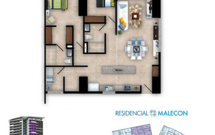 Foto de departamento en venta en, cancún centro, benito juárez, quintana roo, 1183921 no 01