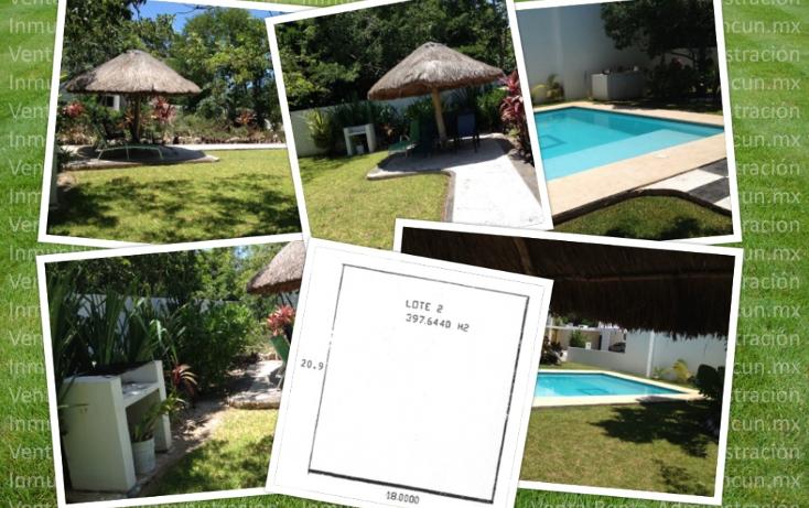 Foto de terreno habitacional en venta en  , canc?n centro, benito ju?rez, quintana roo, 1198613 No. 01