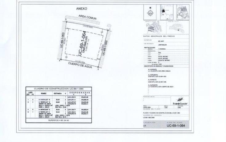 Foto de terreno habitacional en venta en  , cancún centro, benito juárez, quintana roo, 1360067 No. 03