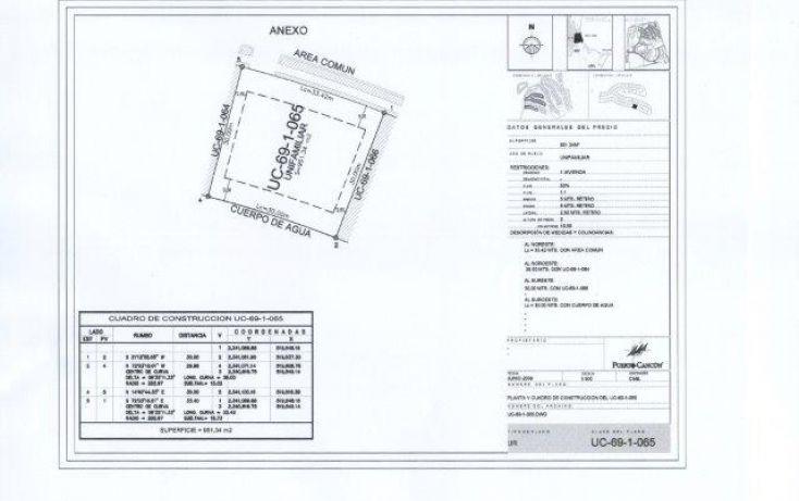 Foto de terreno habitacional en venta en, cancún centro, benito juárez, quintana roo, 1362631 no 04