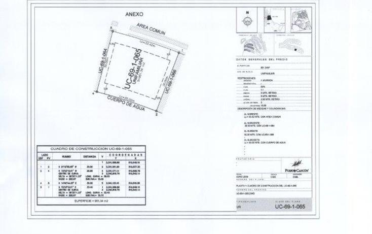 Foto de terreno habitacional en venta en  , cancún centro, benito juárez, quintana roo, 1362631 No. 04