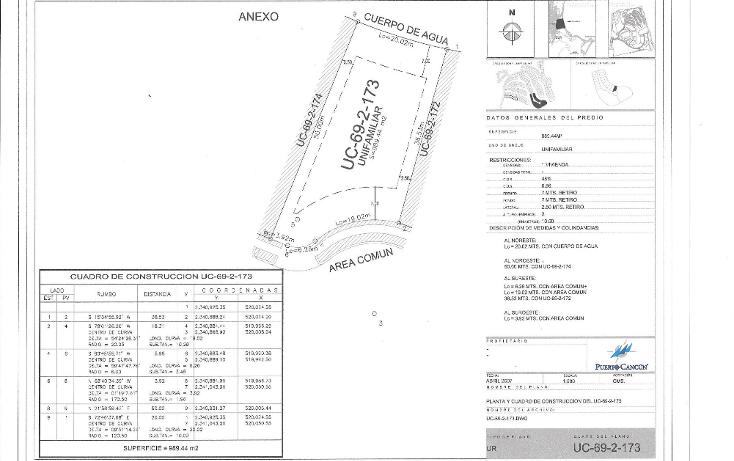 Foto de terreno habitacional en venta en  , cancún centro, benito juárez, quintana roo, 1504635 No. 02