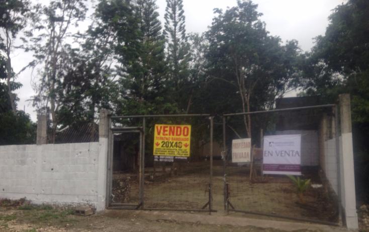 Foto de terreno habitacional en venta en  , cancún centro, benito juárez, quintana roo, 1567214 No. 01