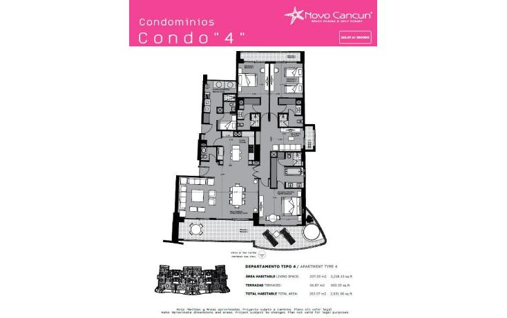 Foto de departamento en venta en  , cancún centro, benito juárez, quintana roo, 1624594 No. 17