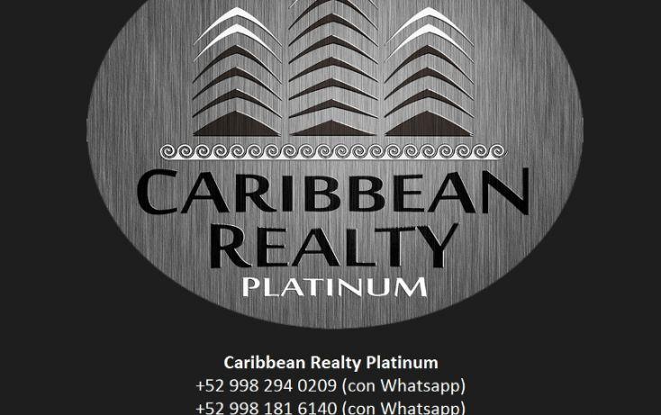 Foto de terreno habitacional en venta en, cancún centro, benito juárez, quintana roo, 1738482 no 02