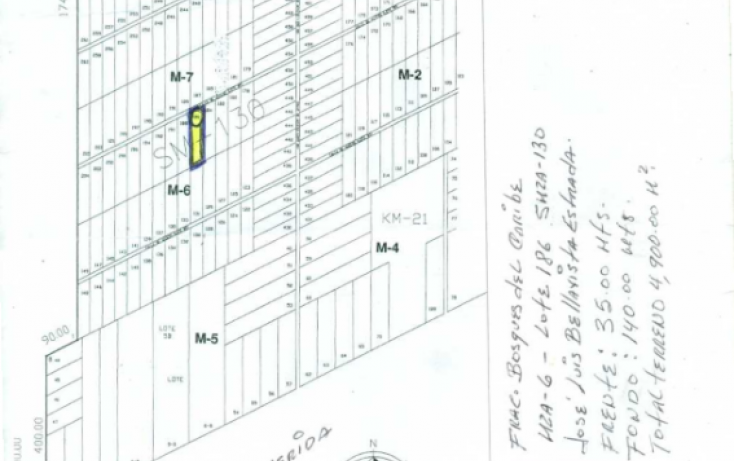 Foto de terreno habitacional en venta en, cancún centro, benito juárez, quintana roo, 1828984 no 02
