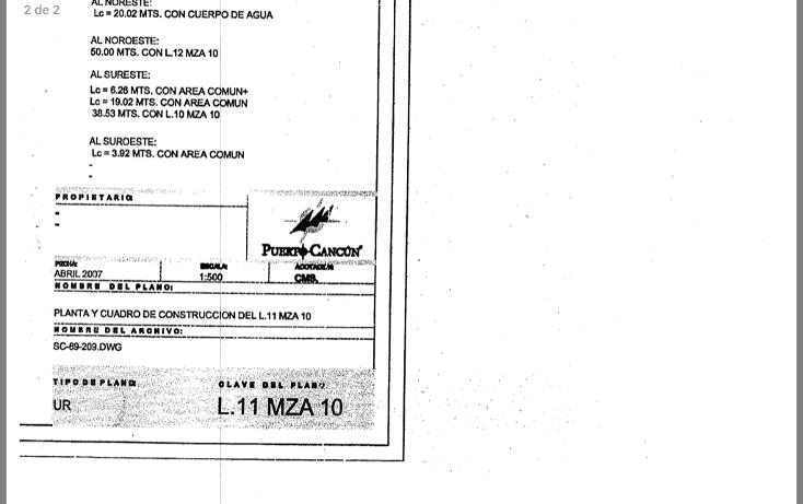 Foto de terreno habitacional en venta en  , cancún centro, benito juárez, quintana roo, 3424268 No. 04