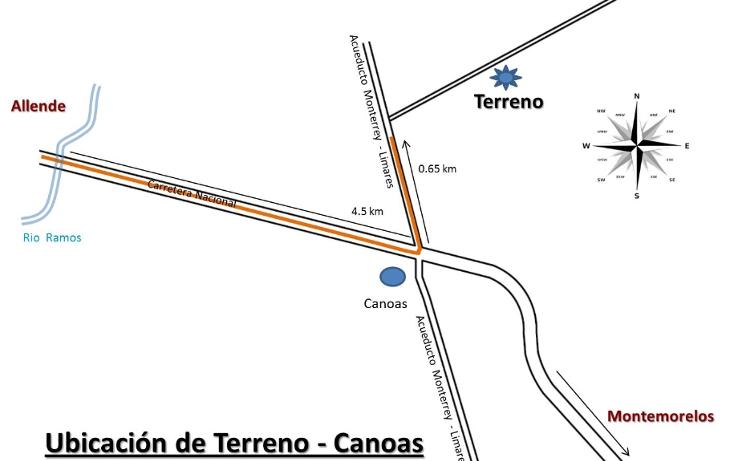 Foto de terreno habitacional en venta en  , canoas, montemorelos, nuevo león, 1040097 No. 06