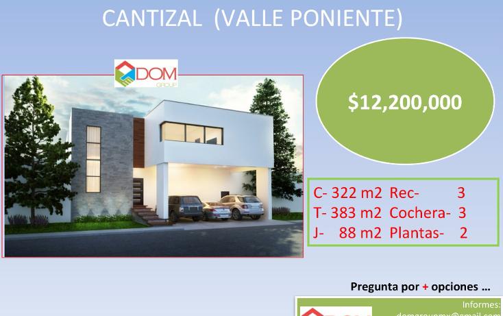 Foto de casa en venta en  , cantizal, santa catarina, nuevo le?n, 1121203 No. 01