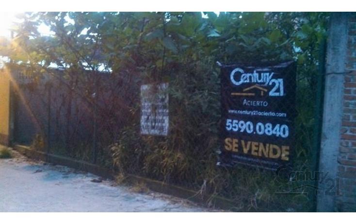 Foto de terreno habitacional en venta en  , canutillo, ?lvaro obreg?n, distrito federal, 1859112 No. 01