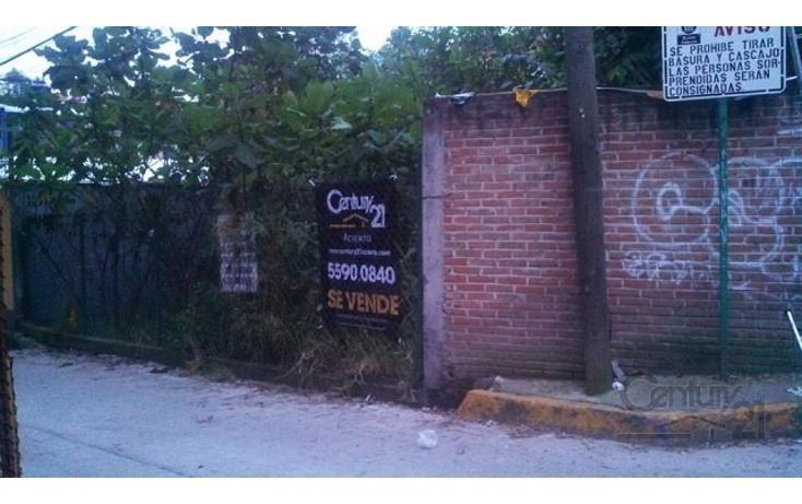 Foto de terreno habitacional en venta en  , canutillo, ?lvaro obreg?n, distrito federal, 1859112 No. 03