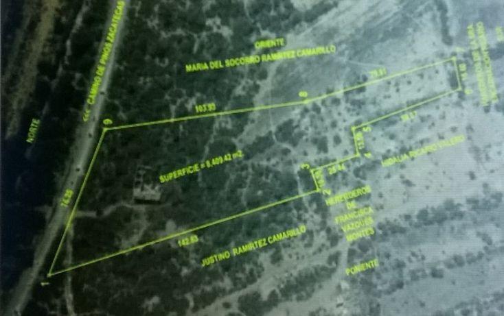 Foto de terreno habitacional en venta en capulines  camino de pinos zacatecas, capulines, san luis potosí, san luis potosí, 1006175 no 01
