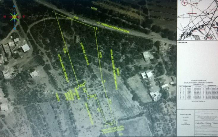 Foto de terreno habitacional en venta en capulines  camino de pinos zacatecas, capulines, san luis potosí, san luis potosí, 1006175 no 02