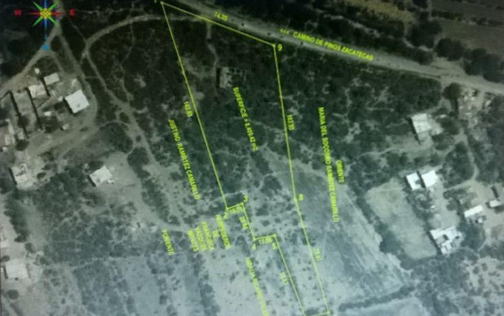Foto de terreno habitacional en venta en capulines  camino de pinos zacatecas, capulines, san luis potosí, san luis potosí, 1006175 no 03
