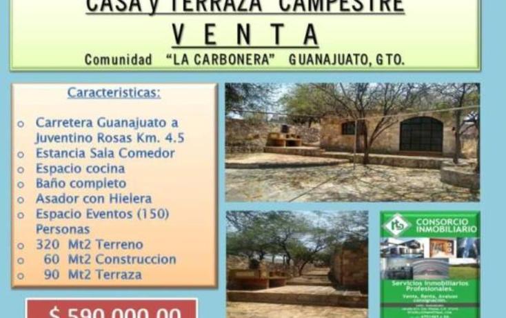 Foto de casa en venta en  , carbonera, guanajuato, guanajuato, 1849820 No. 01