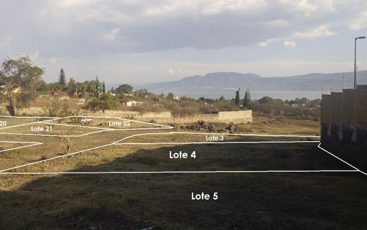 Foto de terreno habitacional en venta en cardenal norte l2, san juan cosala, jocotepec, jalisco, 1743317 no 02