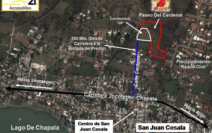 Foto de terreno habitacional en venta en cardenal norte l9, san juan cosala, jocotepec, jalisco, 1743331 no 03