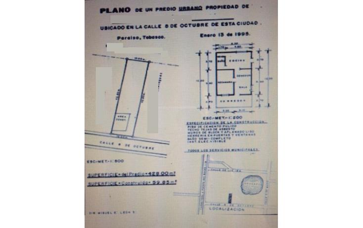 Foto de terreno comercial en venta en  , carlos a madrazo becerra, paraíso, tabasco, 1103699 No. 02