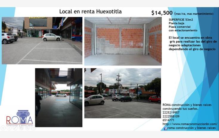 Foto de local en renta en  , carmen huexotitla, puebla, puebla, 2009014 No. 02