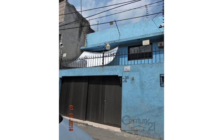 Foto de casa en venta en  , carmen serdán, coyoacán, distrito federal, 1705264 No. 01
