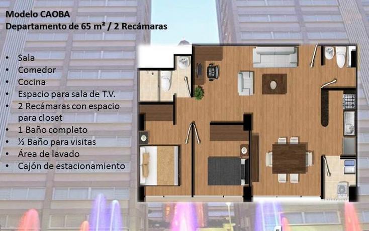 Foto de departamento en venta en  , carola, álvaro obregón, distrito federal, 841059 No. 02