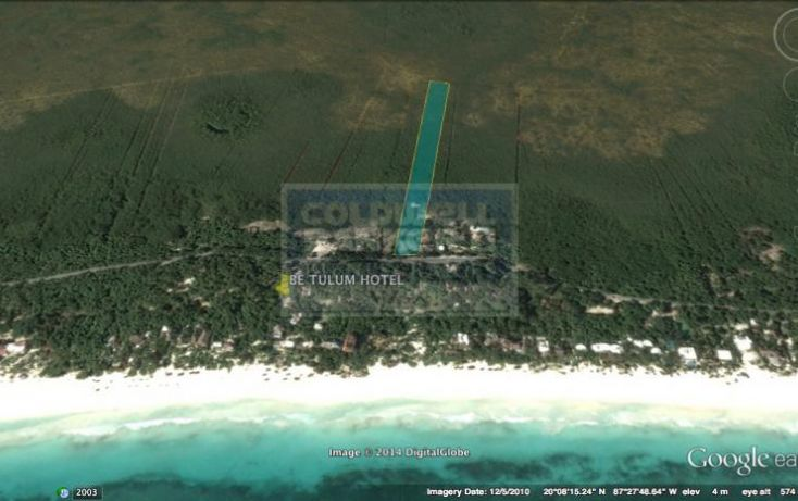 Foto de terreno habitacional en venta en carr boca paila, tulum centro, tulum, quintana roo, 328912 no 05