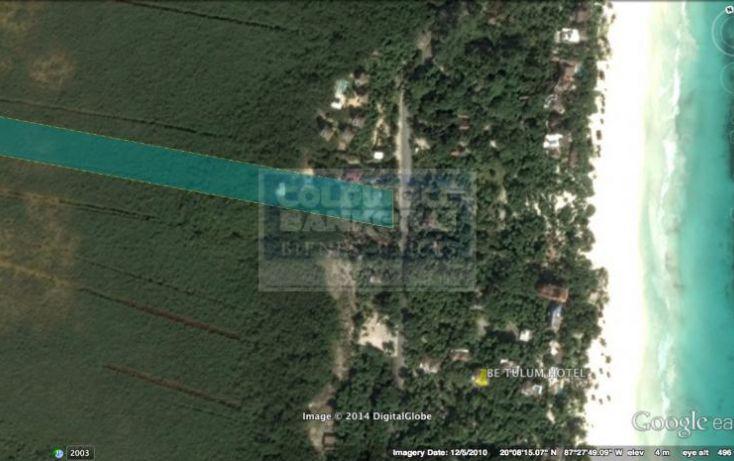Foto de terreno habitacional en venta en carr boca paila, tulum centro, tulum, quintana roo, 328912 no 06