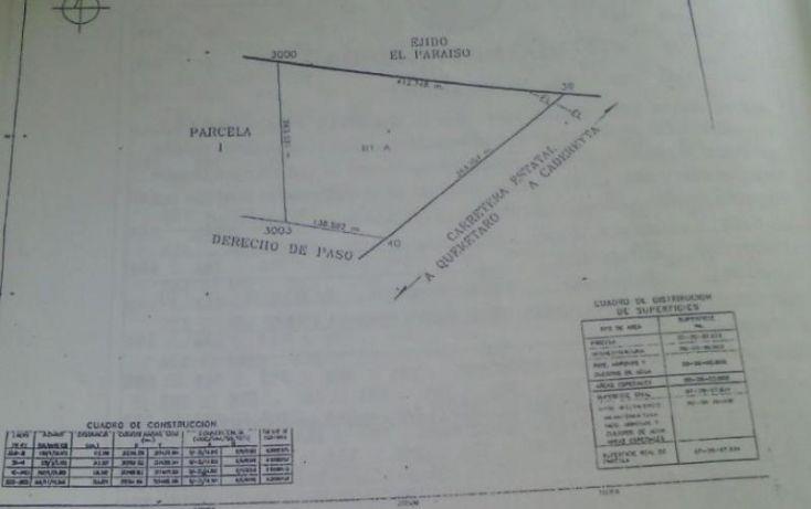 Foto de terreno industrial en venta en carr estatal cadaereyta 1, el paraíso, el marqués, querétaro, 1421525 no 04