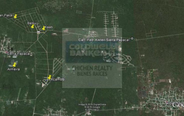 Foto de terreno habitacional en venta en carr fed kikteilsierra papacal, chablekal, mérida, yucatán, 1755349 no 12