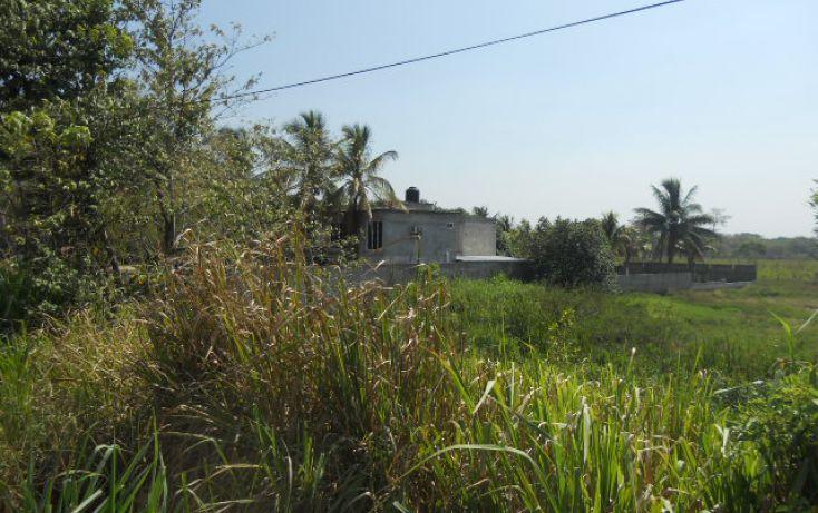 Foto de terreno habitacional en venta en carr federal vhsamacuspana sn, aquiles serdán 2a secc, jalapa, tabasco, 1696510 no 02