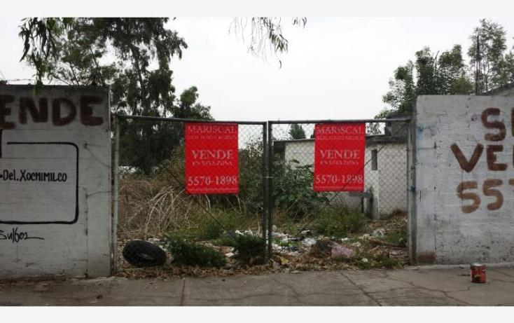 Foto de terreno habitacional en venta en carr xochimilco tulyehualco, barrio pocitos, xochimilco, df, 671237 no 07