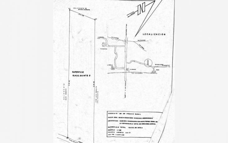 Foto de terreno comercial en venta en carretara principal 20, alborada, emiliano zapata, veracruz, 1634696 no 01