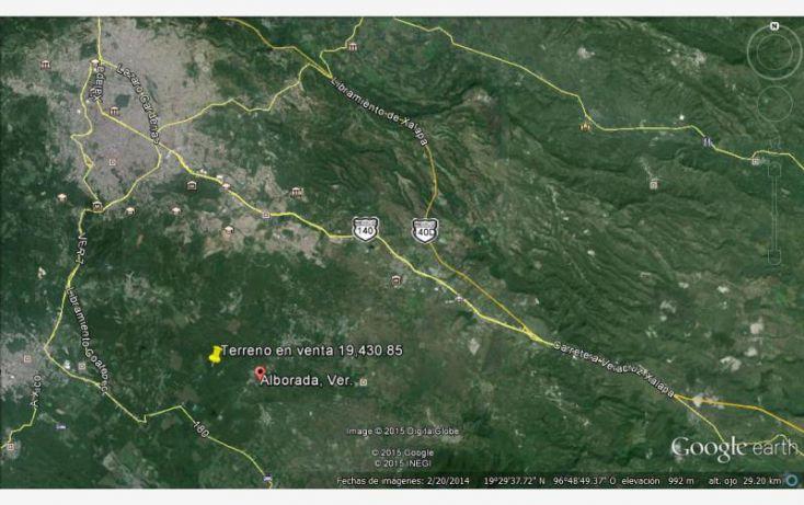 Foto de terreno comercial en venta en carretara principal 20, alborada, emiliano zapata, veracruz, 1634696 no 02