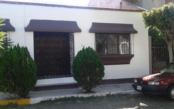 Foto de casa en renta en  , carretas, querétaro, querétaro, 1646600 No. 01