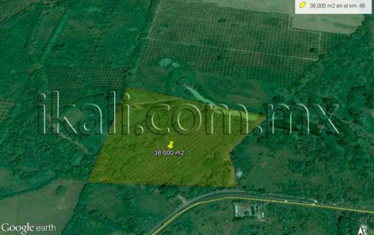 Foto de terreno habitacional en venta en carretera a cazones km 46, guadalupe victoria, poza rica de hidalgo, veracruz, 1034013 no 01
