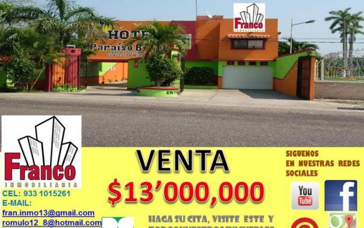 Foto de edificio en venta en carretera a chichicapa, cap reyes hernandez 2a secc, comalcalco, tabasco, 1783588 no 01
