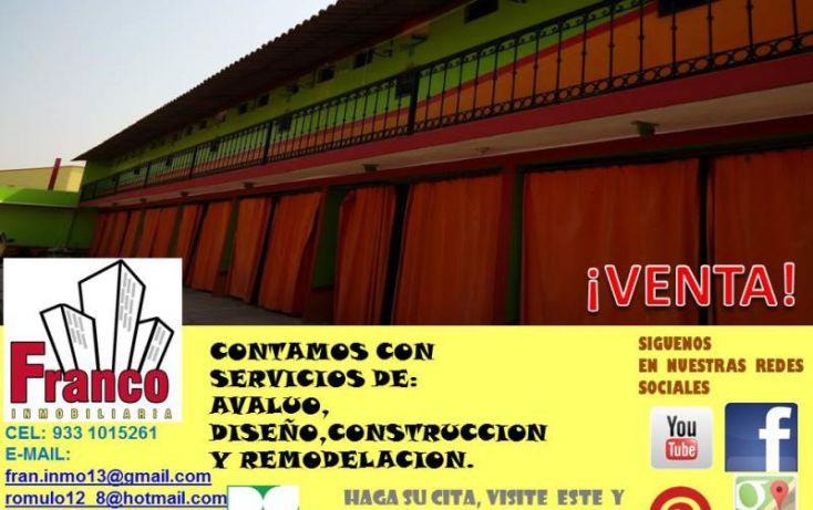 Foto de edificio en venta en carretera a chichicapa, cap reyes hernandez 2a secc, comalcalco, tabasco, 1783588 no 08