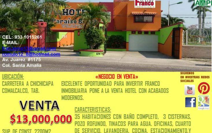 Foto de edificio en venta en carretera a chichicapa, cap reyes hernandez 2a secc, comalcalco, tabasco, 1783588 no 09