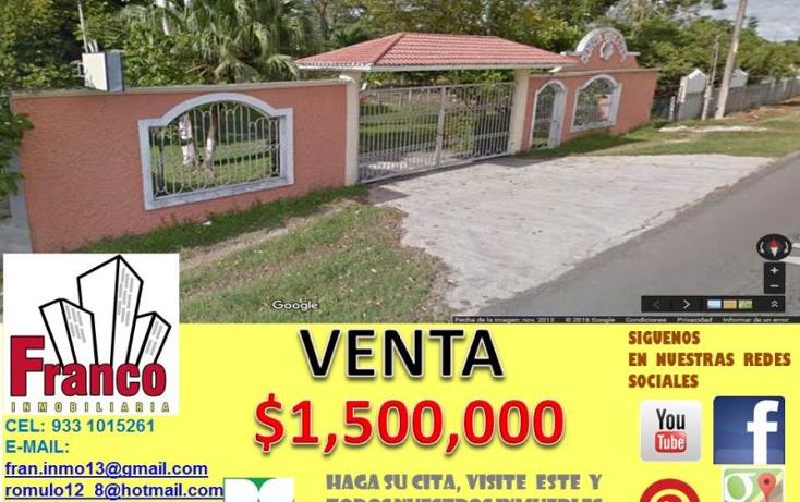 Foto de terreno habitacional en venta en carretera a chichicapa nonumber, chichicapa, comalcalco, tabasco, 1945524 No. 01