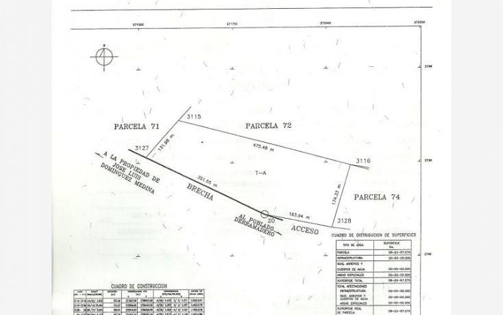Foto de terreno industrial en venta en carretera a derramadero 2555, derramadero, saltillo, coahuila de zaragoza, 1380019 no 01