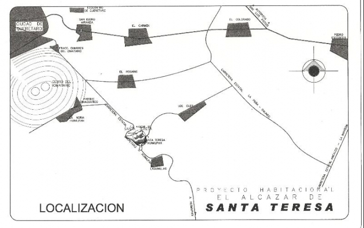 Foto de terreno habitacional en venta en carretera a huimilpan km 11, cimatario, querétaro, querétaro, 552637 no 03