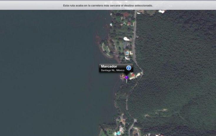 Foto de terreno habitacional en venta en carretera a la cortina 12, 15 de mayo, santiago, nuevo león, 1029539 no 02